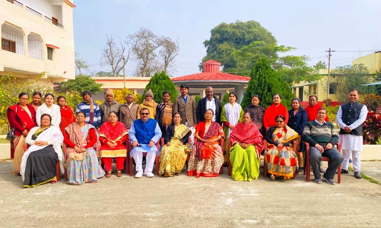Non-Teaching Staff of K.B. Women's Collge, Hazaribagh
